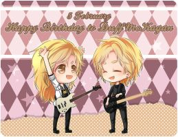 :Gn'R: Happy Birthday to Duff McKagan 2013 ! by PrinceOfRedroses