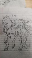 Sirop as a male alicorn by zowie214
