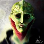 Mass Effect -Thane - See you across the Sea, Siha. by sasorizanoko