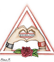 Echelon Heart by Mella-M91