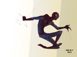 the spider-man by sebstaaa