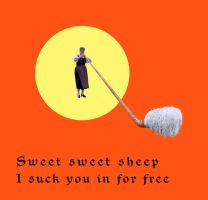 sweet sweet sheep by derkert