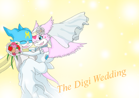 The Digi Wedding cover by HeroHeart001