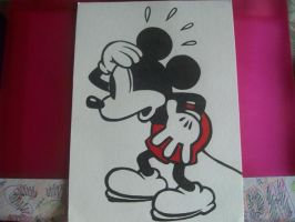 Mickey Mouse by Fadee-x