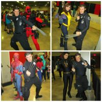 Wolverine's day at Animate Miami by Cadmus130
