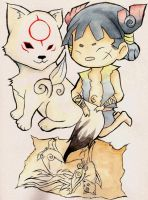 Okamiden by SpiritSlayer