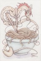 Noodle Bowl by CreativeKender