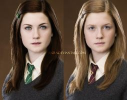 Ginny from Slytherin by Baira