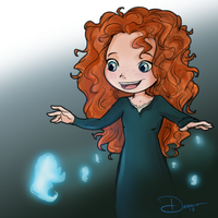 Wee Merida by riku-gurl