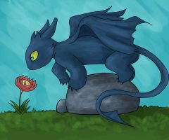 Toothless by Ella-kayleigh
