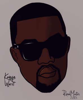 Kanye West by thefasman22
