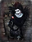 Dinky Death Note Cosplay(Halloween 2016) by Harpyimages