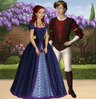America and Maxon by Angel-Shay