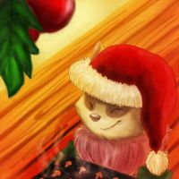 Have a very Teemo Xmas by Felixcani