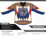 My Hamilton Bulldogs Jersey Design Submission by insanity-pillz