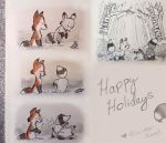 Happy Holidays with Victor and Elizabeth by Sinister-Sweet