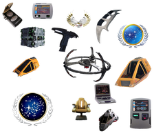 Star Trek Icons PNG II by 1darthvader