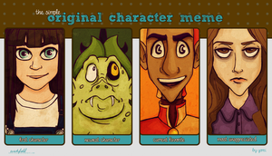 Original Characters Meme by Wickfield