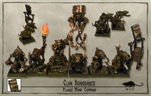 Skaven Plague Monk Command by Shivani11