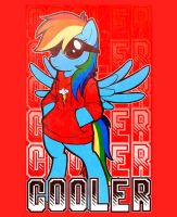 """Just...COOLER"" shirt design by stephastated"