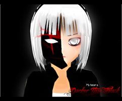 My heart is Darker Than Black by kaahgome