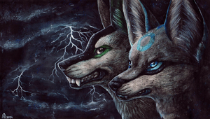 Storms by Lunakia