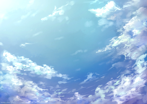 [BG Free2Use] Clouds by HoldSpaceShift