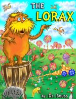The Lorax ebook cover Version 1 by RizoRex