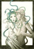 The Gorgon in love by syalice