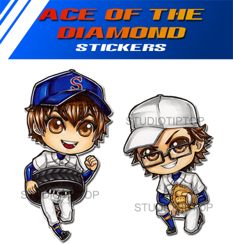Ace of the Diamond by StudioTipTop