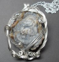 Arctic Cave Necklace by sojourncuriosities