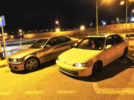 E46 and EG9 by ryn004