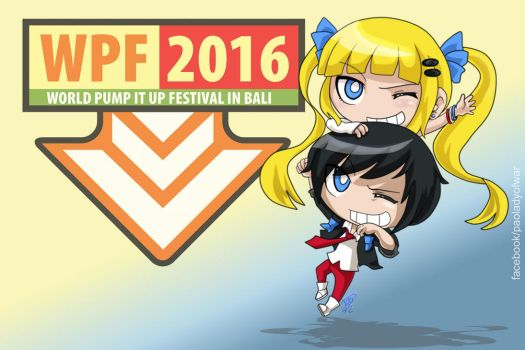 Pump it Up - Chibis WPF 2016 by kei111