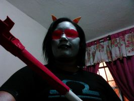 Terezi Pyrope Cosplay Preview H3H3H3 by miles58