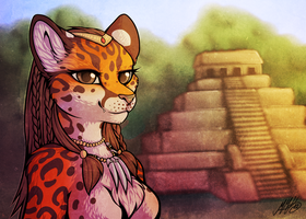 Mayan Margay by Neko-Maya