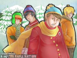 The South Park Boys by xxmissarichanxx