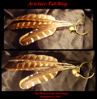 Artefact- Tail Ring by Deathcomes4u