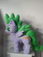 My Little Pony SPIKE as a Pony Plush by CINNAMON-STITCH