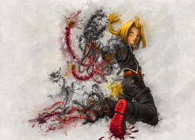 To Reassemble Edward Elric by RadillacVIII