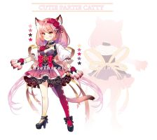 [CLOSED] Adopt auction - Cutie Catty by hieihirai