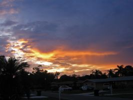 Sunset Over Ft. Myers by moreMDM