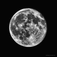 moon by antarialus