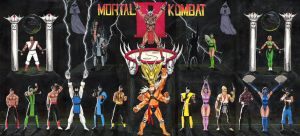 Mortal Kombat 2 poster by edithemad