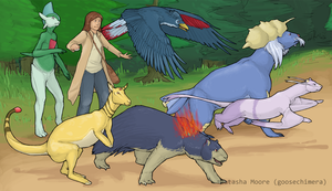 The Team by goosechimera