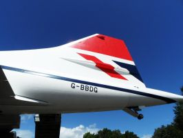 Concorde Tail - Brooklands by PhilsPictures