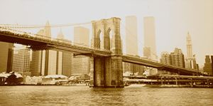Brooklyn Bridge, Olden Style by MediaOracle