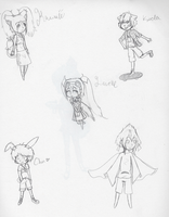 Chibis WIP by Tess-Is-Epic
