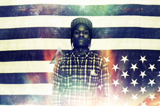 ASAP Rocky by WeeDgS