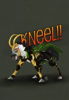 KNEEL!! by Fargonon