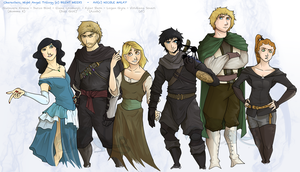 Night Angel Trilogy Characters by NiJole-teh-drac